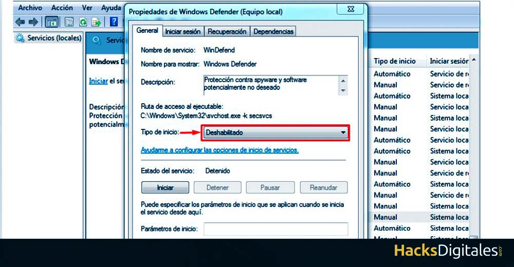 Deshabilitar-windows-defender-windows-7