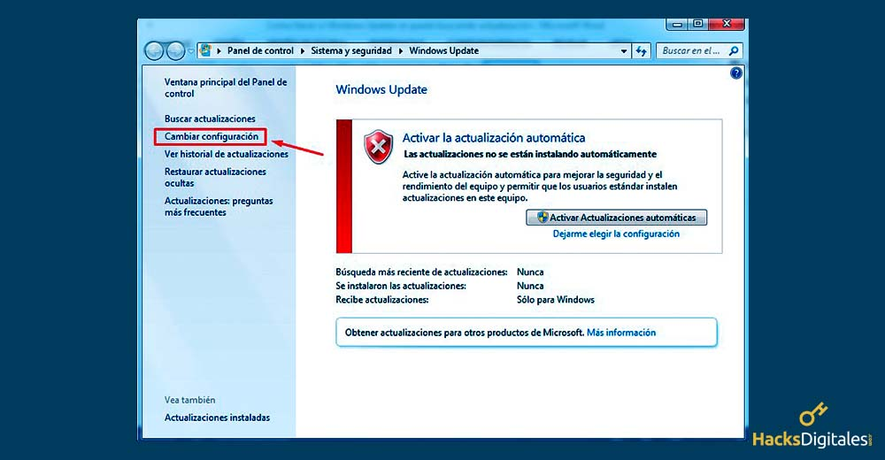 reparar windows update windows 7