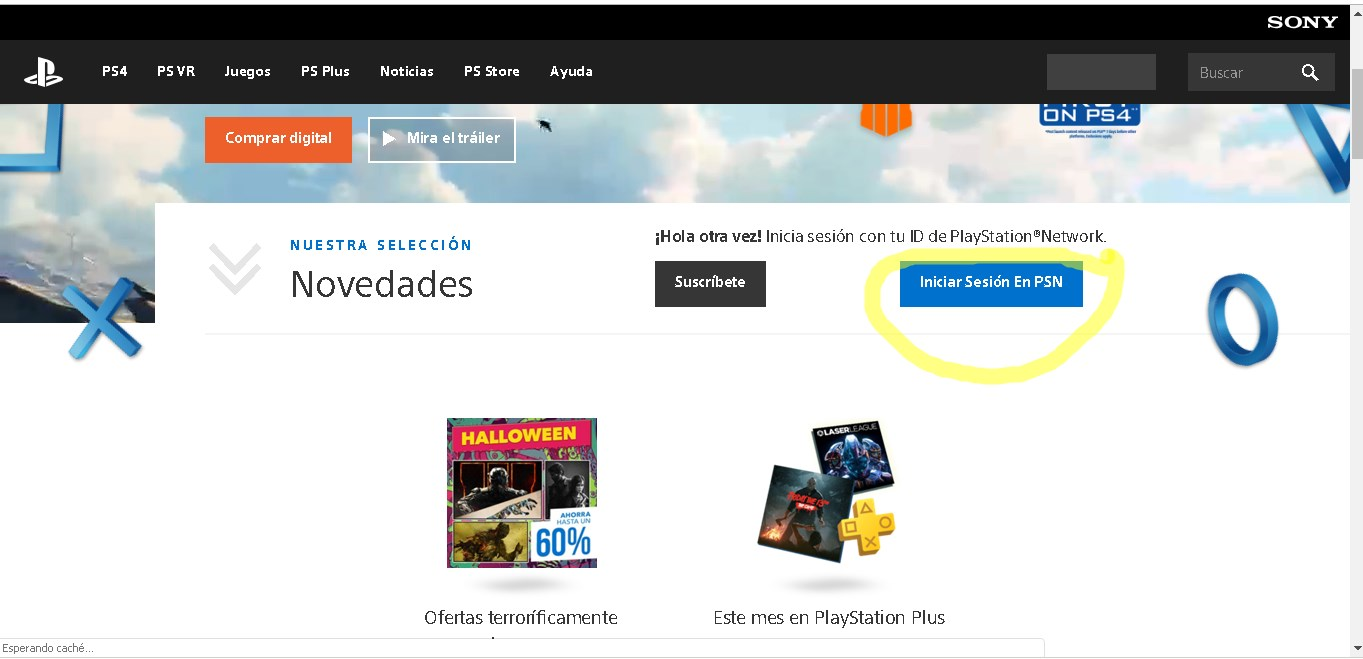 como Recuperar contraseña PlayStation network
