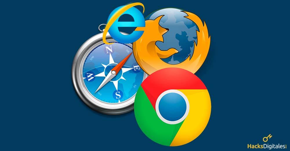 Como paso 3 hay que reconfigurar los navegadores