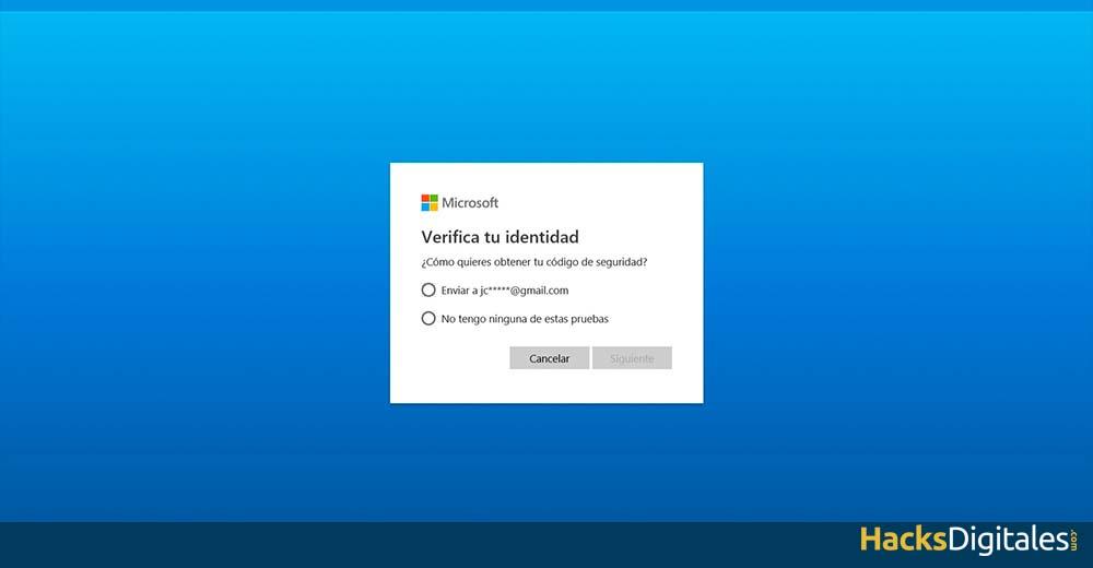 Obtener código seguridad Skype