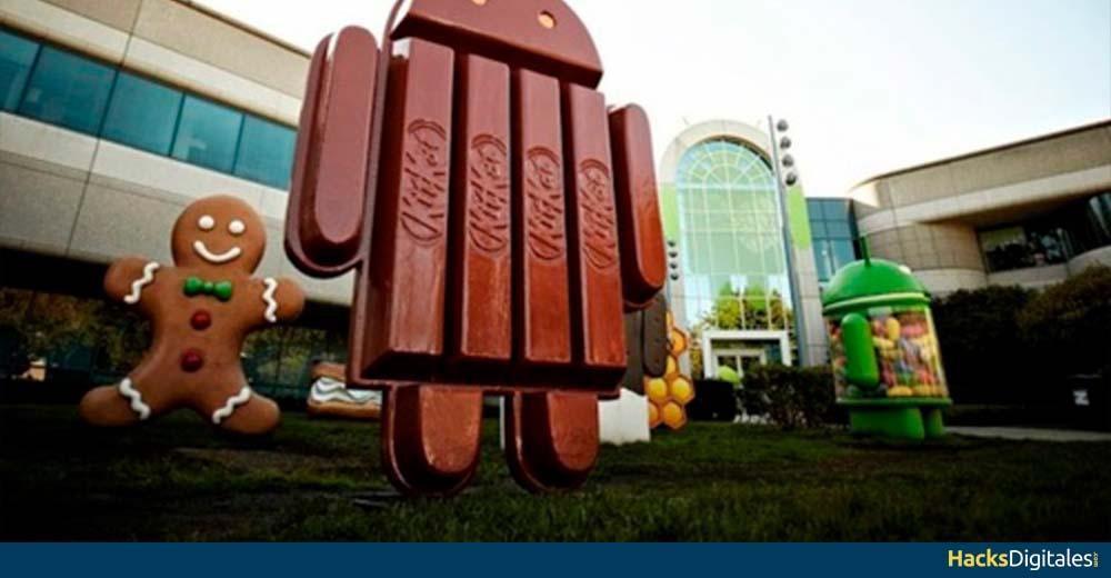 Recuperar Contraseña Android por debajo Kitkat