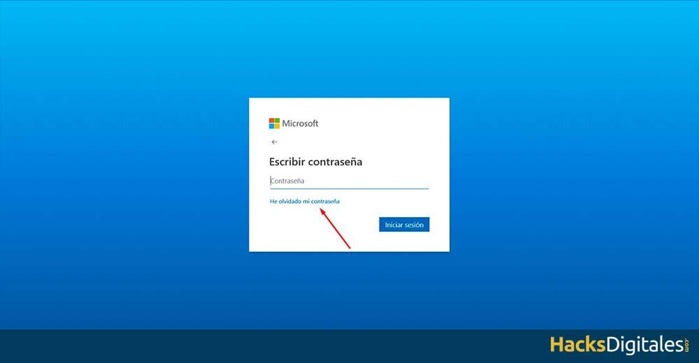Restablecer Contraseña Skype