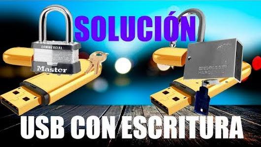solucionar la protección contra escritura en SD